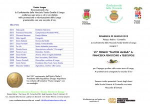 Annuncio Fautor Langae 2013