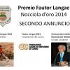 Fautor Langae – Nocciola d'oro 2014 – Secondo Annuncio