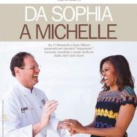 """Il nuovo libro di Chef Carlo Zarri intitolato """"Da Sophia a Michelle"""""""