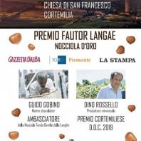Annuncio Premio Fautor Langae 2019