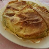 Torta di Spinaci e Nocciole con Sfoglia di Pasta Matta